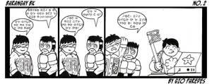 Baybayin Comic strip no.1 by Akopito