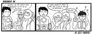Baybayin Comic strip no.2 by Akopito