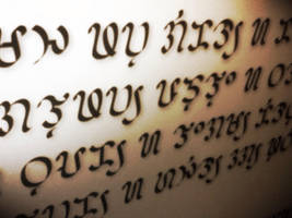 Visayan script (Badlit / Suwat Bisaya) by Akopito