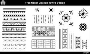 Traditional Visayan Tattoo design by Akopito