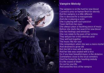 Vampire Melody by demonrobber