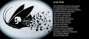 Goth Moth by demonrobber