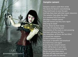 Vampire Lament by demonrobber
