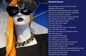 Masked Beauty by demonrobber