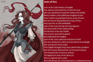 Joan of Arc by demonrobber
