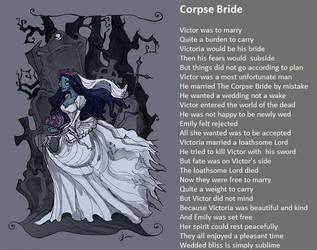 Corpse Bride by demonrobber