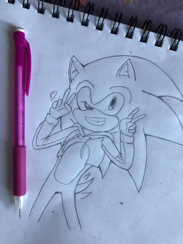 Sonic Sweater Challenge by Tessaiyasongbird