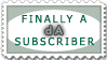 dA subscriber by crazykira-stamps