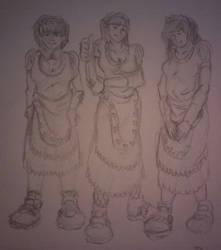 Maids by MahluaandMilk
