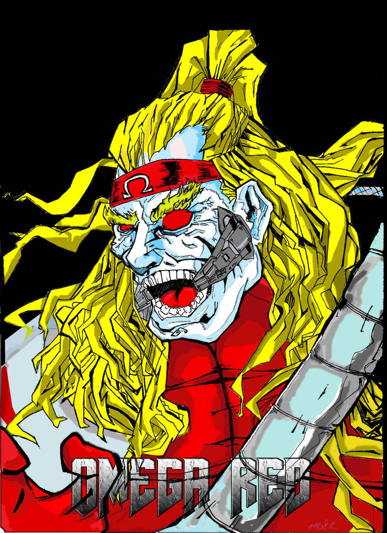 OMEGA RED by McMeowingtons