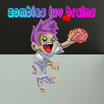Zombies Luv Brains by McMeowingtons