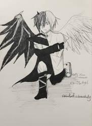 devil  angel by unknownkaty