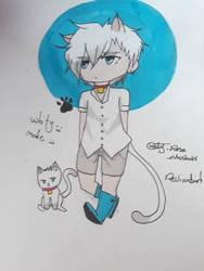 my kitty :3 by unknownkaty