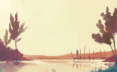 Lake by ashwara
