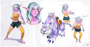 Ariendella character sheet by PuddingPack