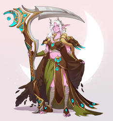 Scythe of Elune2: Electric Boogaloo by PuddingPack