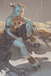 Rainy Shaman by PuddingPack