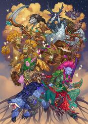 Legion Zine: Druids by PuddingPack