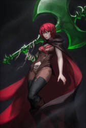 redhead thot out for blood by PuddingPack