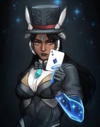 Magician Symmetra by PuddingPack