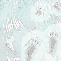 Abtract polar bear by Aspartam