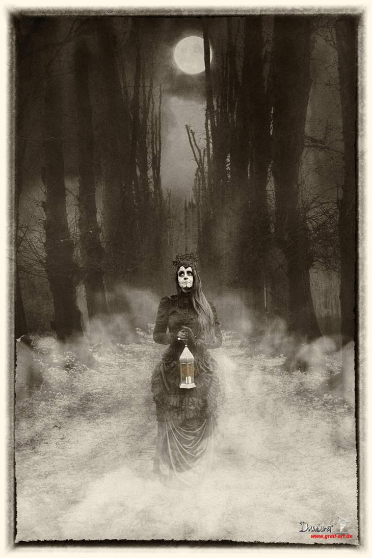 Spaziergang durch die Nacht by Downburst-Art