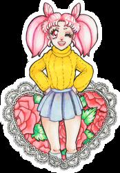 Chibiusa's heart by Takefive-kun