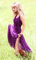 Laura in purple by CathleenTarawhiti
