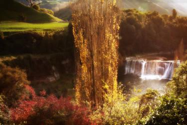 Raukawa Falls, New Zealand by CathleenTarawhiti