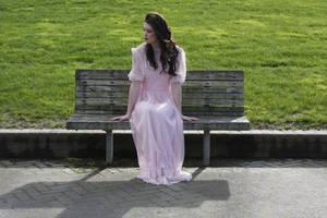 Danielle pink dress 32 by CathleenTarawhiti