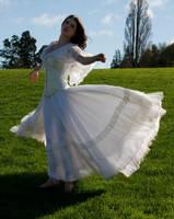 Danielle white dress 15 by CathleenTarawhiti