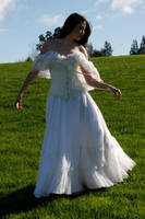 Danielle white dress 14 by CathleenTarawhiti