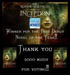 Book cover - Inception by Teal Haviland by CathleenTarawhiti