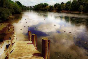 River stock by CathleenTarawhiti