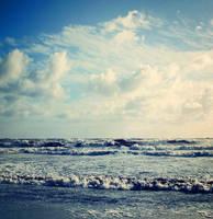 Surf and sky by CathleenTarawhiti
