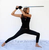 Action pose - woman 16 by CathleenTarawhiti