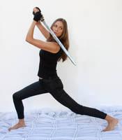 Action pose - woman 19 by CathleenTarawhiti