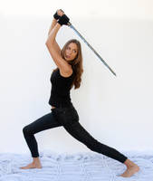 Action pose - woman 20 by CathleenTarawhiti