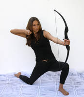 Action pose - woman 25 by CathleenTarawhiti