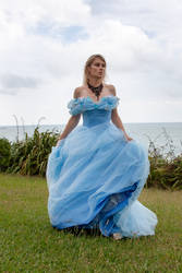 Aleida blue dress 13 by CathleenTarawhiti