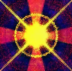 Blazing Subterranean Rose by SolarBladeArtifex