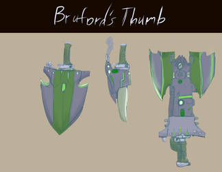 KA Bruford's Thumb by kongless34