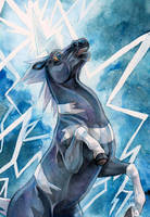 Wild Bolt by kankakanka