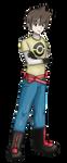 Pokemon trainer OC by DarkKodKod