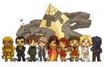 Stargate SG1 Villains [commission] by JoannaJohnen