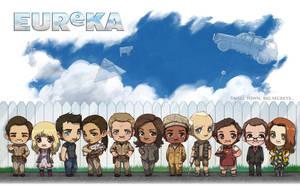 [commission] Eureka Cast by JoannaJohnen