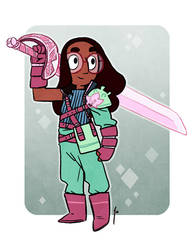 SU - Sword Fighter Connie by JoannaJohnen