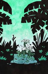 lily variety bulbasaur by JoannaJohnen