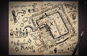 Jester's Sketchbook - spread 15 by JoannaJohnen