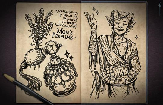 Jester's Sketchbook - spread 21 by JoannaJohnen